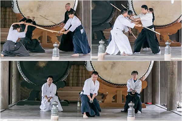 剣術と居合演武