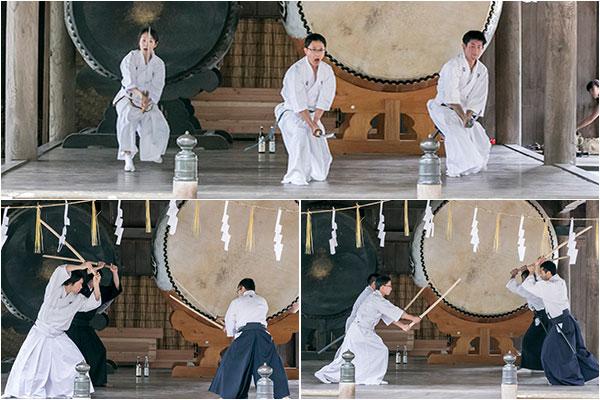 初級・中級者の居合と剣術